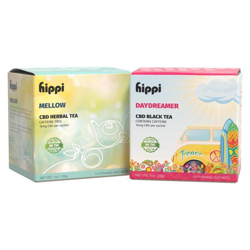 Hippi CBD Tea Twin Pack